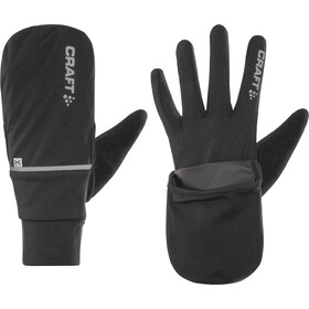 Craft Hybrid Weather Guantes largos, black